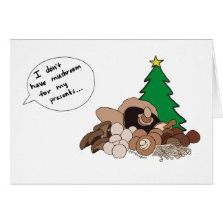 Cartes Je ne prends pas le champignon pour mes présents !