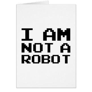Cartes Je ne suis pas un robot