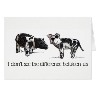 Cartes Je ne vois pas la différence entre nous