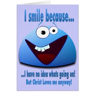 Cartes Je souris parce que… V2