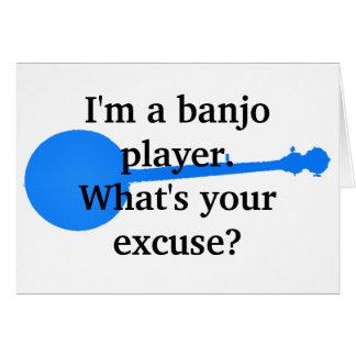 Cartes Je suis un joueur de banjo, ce qui est votre