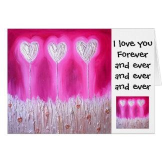Cartes Je t'aime pour toujours…