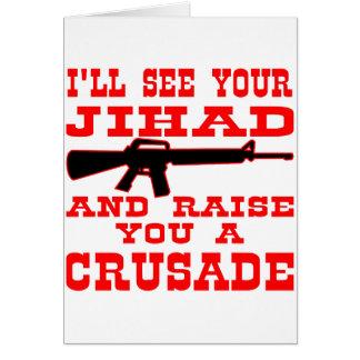 Cartes Je verrai votre Jihad et vous élèverai une