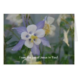 Cartes Je vois la joie de Jésus dans vous !
