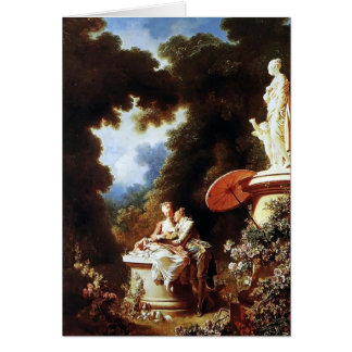 Cartes Jean-Honore Fragonard- la confession de l'amour