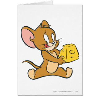 Cartes Jerry aime son fromage