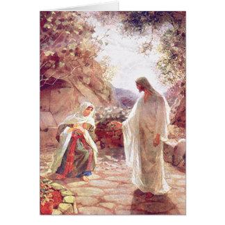 Cartes Jésus apparaît à Mary Magdalene