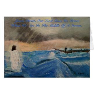 Cartes Jésus-Christ, notre seigneur Gives Us paix
