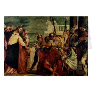 Cartes Jésus et le centurion