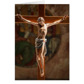 Cartes Jésus sur la croix