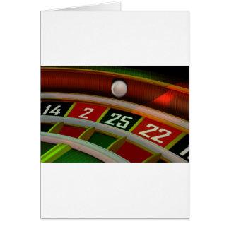 Cartes Jeu de casino de Rulet de roulette