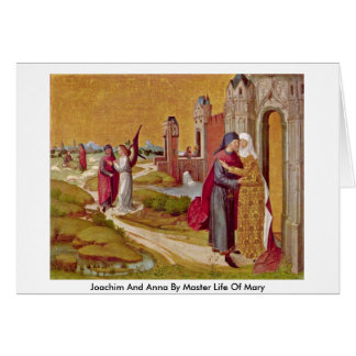 Cartes Joachim et Anna par la vie principale de Mary