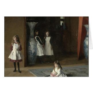 Cartes John Sargent- les filles d'Edouard Darley Boit