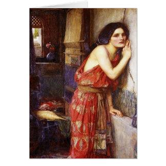 Cartes John William Waterhouse (1909) 'Thisbe