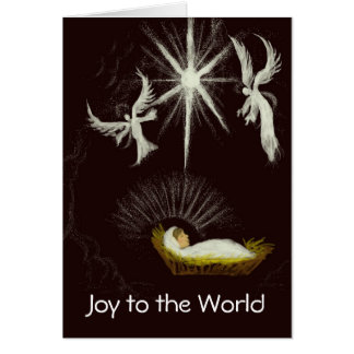 Cartes Joie à Noël personnalisable du monde