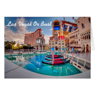 Cartes Joignez-moi dans l'invitation de Las Vegas