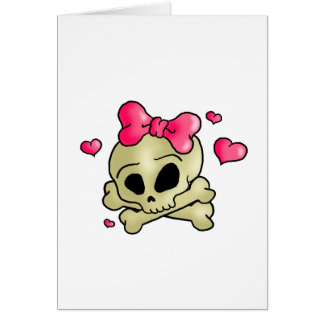 Cartes Joli crâne
