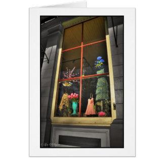 Cartes Jolie fenêtre