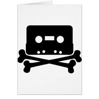 Cartes Jolly roger de cassette