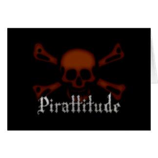 Cartes Jolly roger de sang de Pirattitude