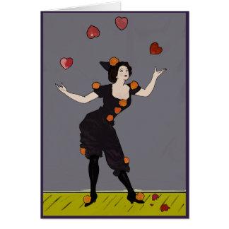 Cartes Jongleur des coeurs : Ne brisez pas mon coeur !