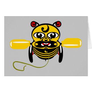 Cartes Jouet Kiwiana d'abeille de Hei Tiki