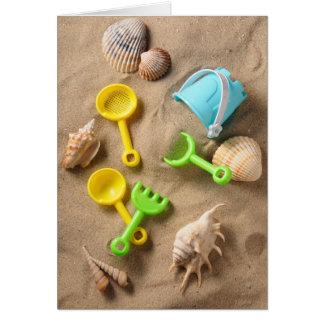 Cartes Jouets de plage