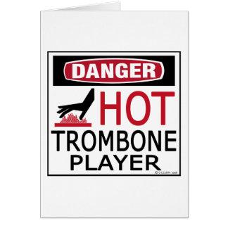 Cartes Joueur de trombone chaud
