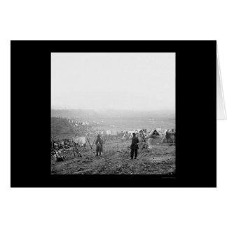Cartes Jour de la bataille de Nashville, TN 1864