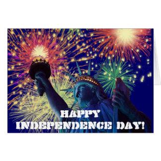 Cartes Jour de la Déclaration d'Indépendance !