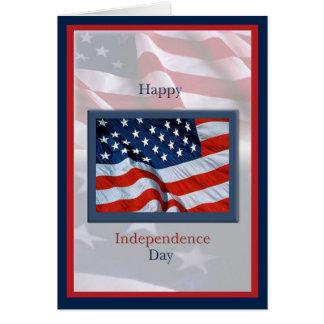 Cartes Jour de la Déclaration d'Indépendance avec la