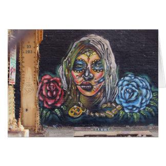 Cartes Jour de la peinture murale morte
