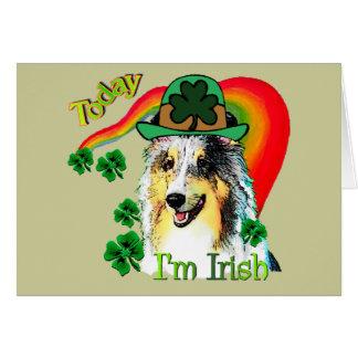 Cartes Jour de St Patricks de Sheltie