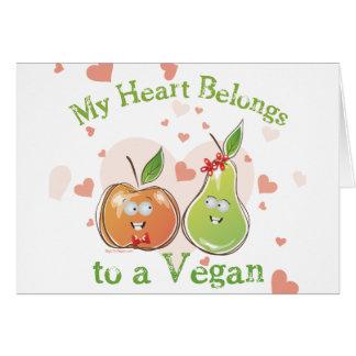Cartes Jour de Valentines végétalien