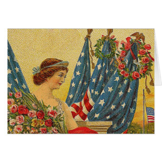 Cartes Jour du Souvenir patriotique vintage