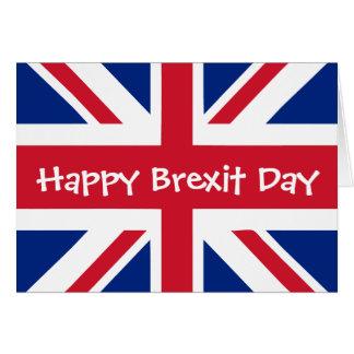 Cartes Jour heureux de Brexit - 29 mars