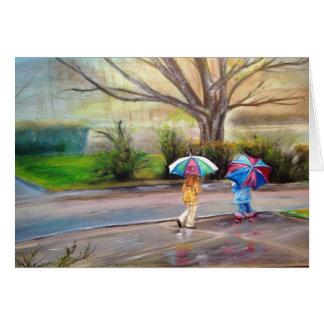 """Cartes """"Jour pluvieux parfait """""""