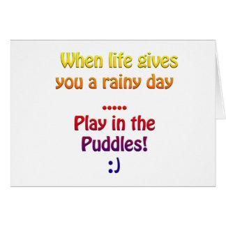 Cartes Jours pluvieux