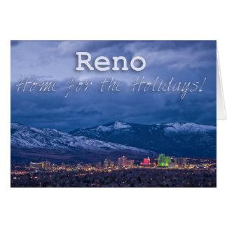 Cartes Joyeuses Fêtes de Reno Nevada