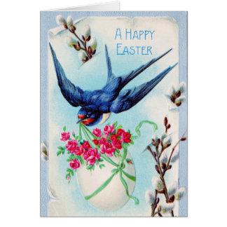 Cartes Joyeuses Pâques - cru
