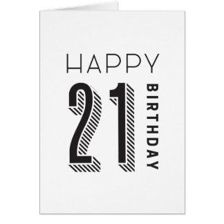 Cartes Joyeux anniversaire 21
