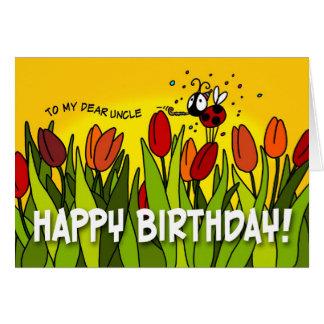 Cartes Joyeux anniversaire - à mon cher oncle