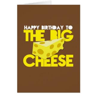 Cartes Joyeux anniversaire au GRAND FROMAGE