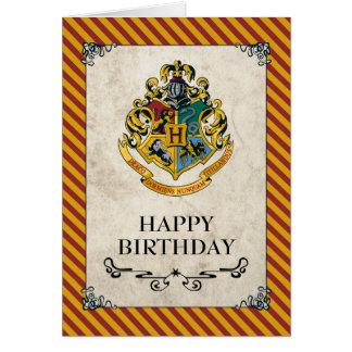 Cartes Joyeux anniversaire de Harry Potter | Hogwarts