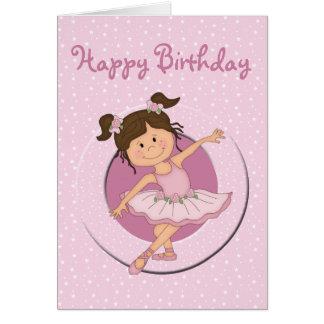 joyeux anniversaire ballerine