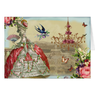 Cartes Joyeux anniversaire des souvenirs De Versailles