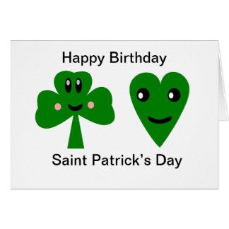 Cartes Joyeux anniversaire : Le jour de Patrick de saint