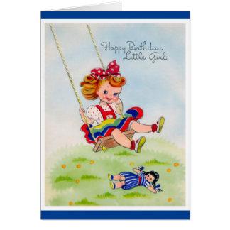 Cartes Joyeux anniversaire - petite fille