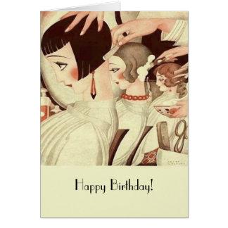 Cartes Joyeux anniversaire pour un coiffeur