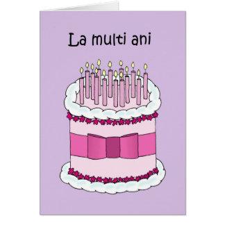 bon anniversaire roumain